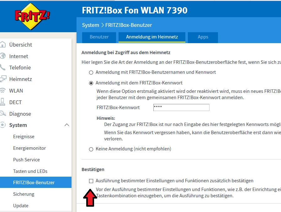 Von der Fritz!Box durch ein Update ausgesperrt